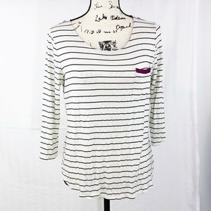 Stitch Fix Papermoon Striped Shirt Buttons Large